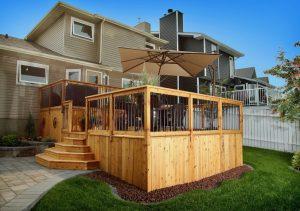 Land Surveyors and Backyard Decks